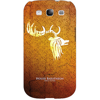 Enhance Your Phone Game Of Thrones GOT House Baratheon  Back Cover Case For Samsung Galaxy S3 Neo E340171