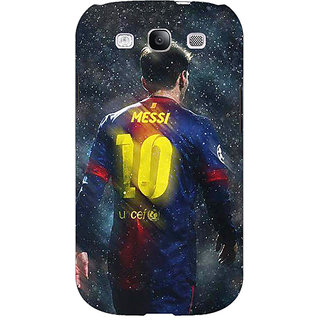 Enhance Your Phone Barcelona Messi Back Cover Case For Samsung Galaxy S3 Neo GT- I9300I E350524