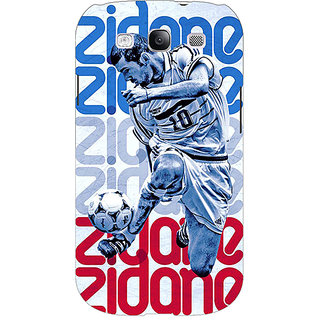 Enhance Your Phone Real Madrid Zidane Back Cover Case For Samsung Galaxy S3 Neo GT- I9300I E350590