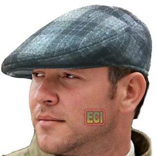 CROWN Best Gents Flat Cap English Men Golf Hat Bunnet Bonnet Beret Cabbie