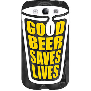 Enhance Your Phone Beer Quote Back Cover Case For Samsung Galaxy S3 Neo GT- I9300I E351250