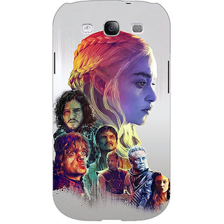 Enhance Your Phone Game Of Thrones GOT All Back Cover Case For Samsung Galaxy S3 Neo GT- I9300I E351529