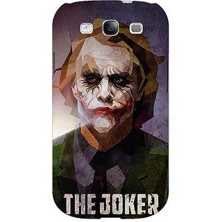 Enhance Your Phone Villain Joker Back Cover Case For Samsung Galaxy S3 Neo GT- I9300I E350049