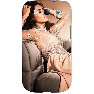 Enhance Your Phone Bollywood Superstar Nargis Fakhri Back Cover Case For Samsung Galaxy S3 Neo GT- I9300I E351010