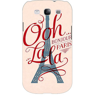 Enhance Your Phone Quotes Paris Back Cover Case For Samsung Galaxy S3 Neo E341166