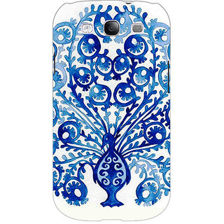 Enhance Your Phone Paisley Beautiful Peacock Back Cover Case For Samsung Galaxy S3 Neo GT- I9300I E351579
