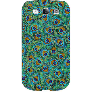 Enhance Your Phone Paisley Beautiful Peacock Back Cover Case For Samsung Galaxy S3 Neo GT- I9300I E351581