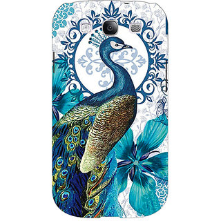 Enhance Your Phone Paisley Beautiful Peacock Back Cover Case For Samsung Galaxy S3 Neo GT- I9300I E351582