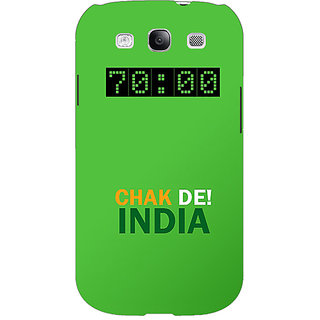 Enhance Your Phone Bollywood Superstar Chak De India Back Cover Case For Samsung Galaxy S3 Neo GT- I9300I E351106