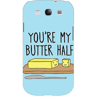 Enhance Your Phone Quotes Better half Back Cover Case For Samsung Galaxy S3 Neo GT- I9300I E351140
