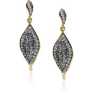 Antique Golden Diamond Drops