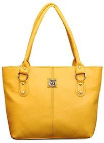 Fostelo Golden Yellow Messenger Handbag
