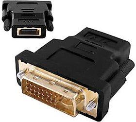 DVI-I 24+5 Male To HDMI Female Adapter Converter