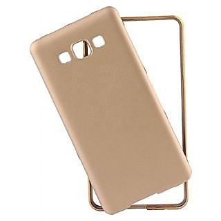 Buy Zocardo Stylish Premium Golden Bumper with Back Cover for Samsung Galaxy J7 Online @ ₹398 from ShopClues