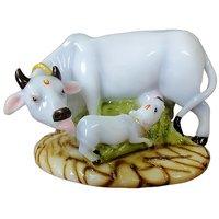Attractive Handmade kamdhenu Cow  Calf