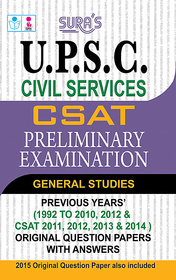 UPSC Civil Services CSAT Preliminary Examination Book