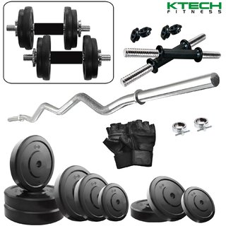 KTECH 58KG COMBO 4-WB HOME GYM