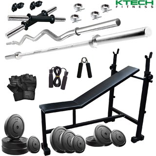 KTECH 62KG COMBO 5-WB HOME GYM