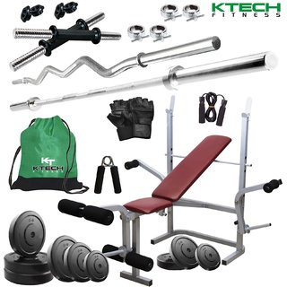 KTECH 72KG COMBO 8 HOME GYM