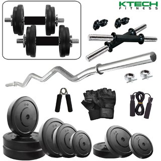 KTECH 62KG COMBO 3-WB HOME GYM