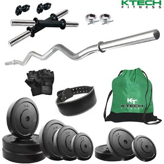 KTECH 65KG COMBO 24 HOME GYM