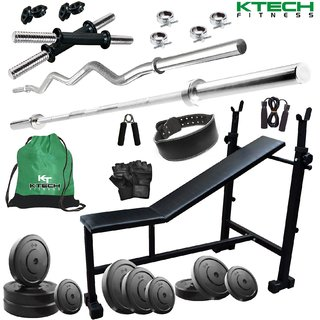 KTECH 72KG COMBO 6 HOME GYM