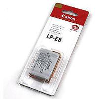 Canon LP-E8 Rechargeable Battery, Canon 550D/600D Camera Battery