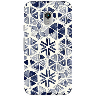Enhance Your Phone Snow winter Pattern Back Cover Case For Moto G3 E670278