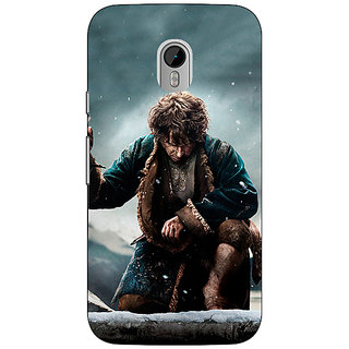 Enhance Your Phone LOTR Hobbit  Back Cover Case For Moto G3 E670372
