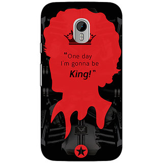 Enhance Your Phone Entourage Vince Back Cover Case For Moto G3 E670435