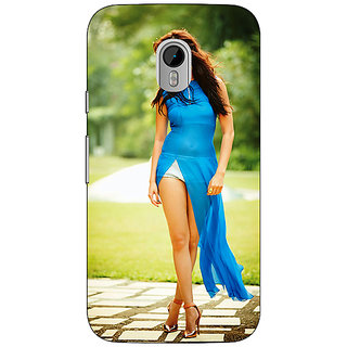 Enhance Your Phone Bollywood Superstar Anushka Sharma Back Cover Case For Moto G3 E670987