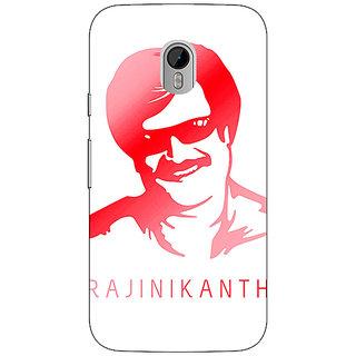 Enhance Your Phone Rajni Rajanikant Back Cover Case For Moto G3 E671493