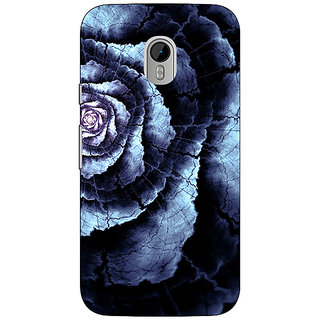 Enhance Your Phone Abstract Flower Pattern Back Cover Case For Moto G3 E671506