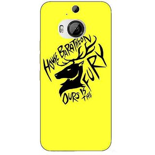 Enhance Your Phone Game Of Thrones GOT House Baratheon  Back Cover Case For HTC M9 Plus E680168