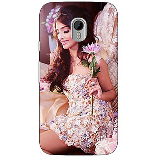 Enhance Your Phone Bollywood Superstar Sonam Kapoor Back Cover Case For Moto G3 E671063