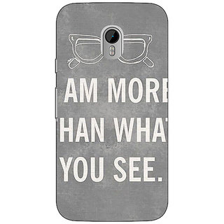 Enhance Your Phone Quote Back Cover Case For Moto G3 E671316