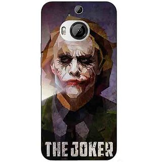 Enhance Your Phone Villain Joker Back Cover Case For HTC M9 Plus E680049