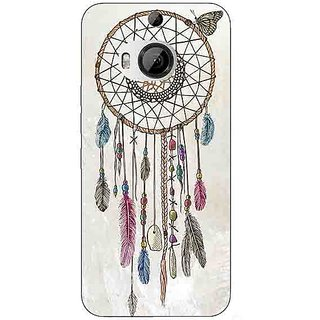 Enhance Your Phone Dream Catcher Back Cover Case For HTC M9 Plus E680097