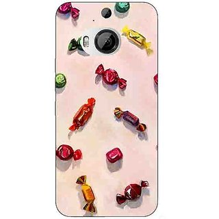 Enhance Your Phone Toffee Pattern Back Cover Case For HTC M9 Plus E680247