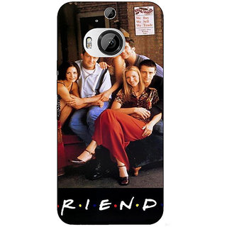 Enhance Your Phone TV Series FRIENDS Back Cover Case For HTC M9 Plus E680346