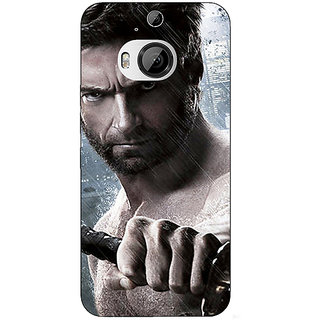 Enhance Your Phone Wolverine Hugh Jackman Back Cover Case For HTC M9 Plus E680893