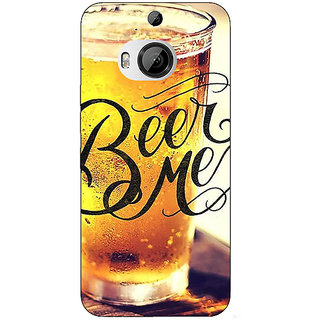 Enhance Your Phone Beer Quote Back Cover Case For HTC M9 Plus E681210