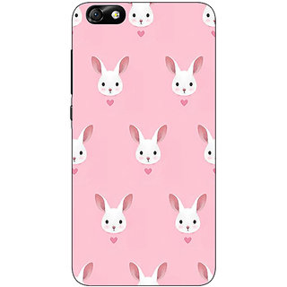Enhance Your Phone Rabbit Back Cover Case For Huwaei Honor 4X