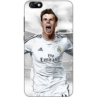 Enhance Your Phone Real Madrid Bale Back Cover Case For Huwaei Honor 4X