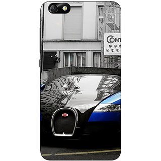 Enhance Your Phone Super Car Bugatti Back Cover Case For Huwaei Honor 4X