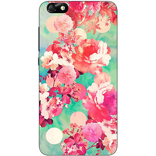 Enhance Your Phone Floral Pattern  Back Cover Case For Huwaei Honor 4X