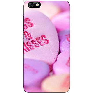 Enhance Your Phone Hugs  Kisses Back Cover Case For Huwaei Honor 4X