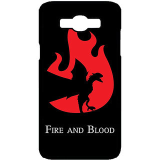 Enhance Your Phone Game Of Thrones GOT House Targaryen  Back Cover Case For Samsung Galaxy J7