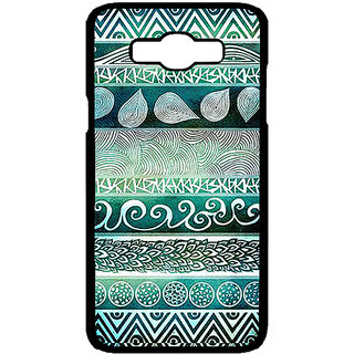 Enhance Your Phone Aztec Girly Tribal Back Cover Case For Samsung Galaxy J7