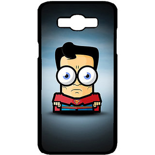 Enhance Your Phone Big Eyed Superheroes Superman Back Cover Case For Samsung Galaxy J7